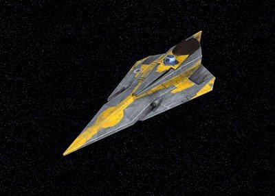 Star Wars - Anakin's Jedi Starfighter (Clone Wars)