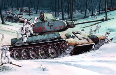 t 34 tank interior  34/76 (1942) - SPECIAL ORDER