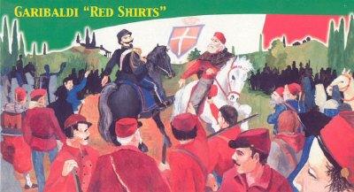 Shirts Garibaldi Garibaldi Red Shirts Italy