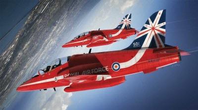 Bae Hawk T Mk 1 Red Arrows 2016 Livery A02005c