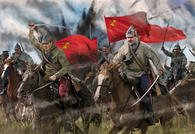 Red Army Cavalry Summer Dress St0164
