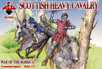 Red Box RB72108 Scottish light cavalry,War o.the Roses12 in 1:72