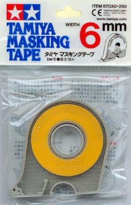 Masking tape 6mm tamiya ty87030 - Boutique masking tape paris ...