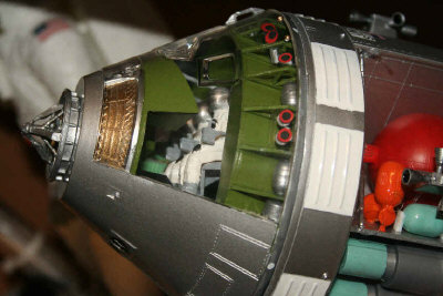 apollo spacecraft interior revell - photo #10