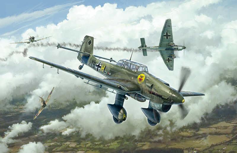 Airfix 1/48 Junkers Ju 87 B2 Stuka A07115 - Sussex Model